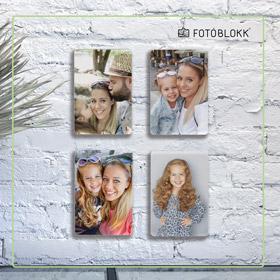 családi képek falra fotóblokk