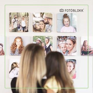 Fotók a falra fotoblokk