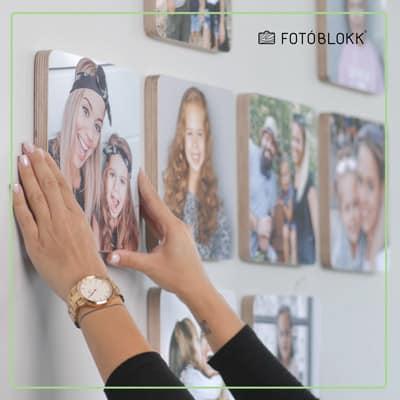 #2 Egy határozott mozdulattal tedd fel a falra és nyomd meg erőteljesen
